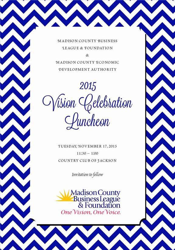 2015 Vision Celebration Invitation