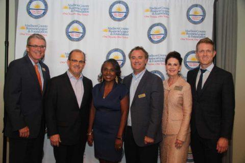 MCBL&F reception honoring Madison County Schools Superintendent
